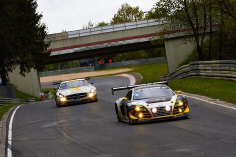 #1, Audi R8 LMS ultra , 24h-Rennen Nürburgring 2013