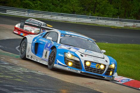 #4, Audi R8 LMS ultra , 24h-Rennen Nürburgring 2013