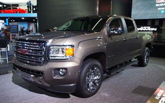 01/2014, GMC Canyon Detroit Motor Show