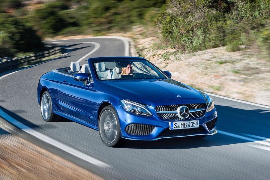 Mercedes E Klasse Cabrio Leasing