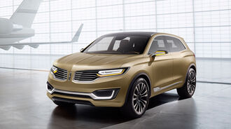 04/2014 Lincoln MKX Concept Peking Motor Show