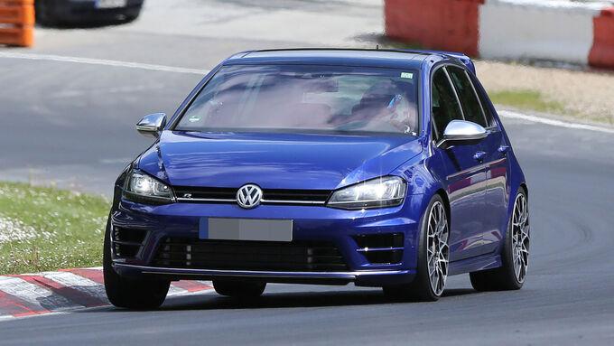 05/2015, VW Golf R420 Erlkönig