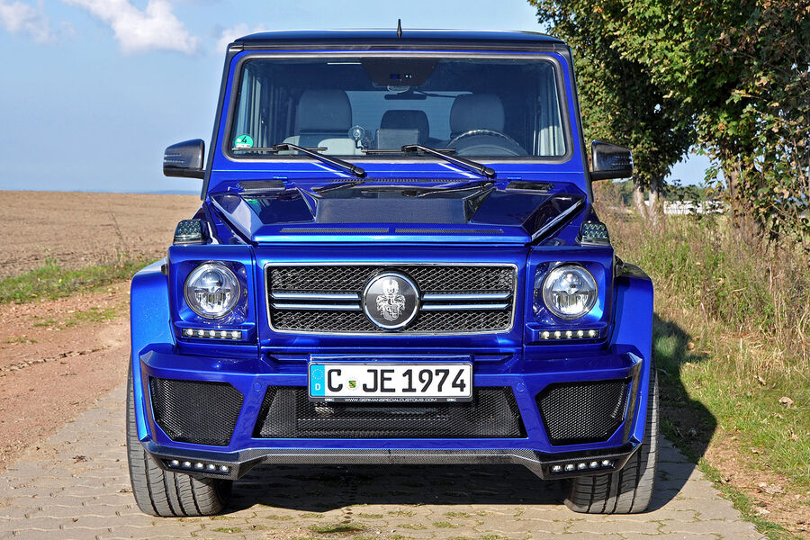 mercedes g class tuning the phattest tuning gs auto motor and sport. Black Bedroom Furniture Sets. Home Design Ideas