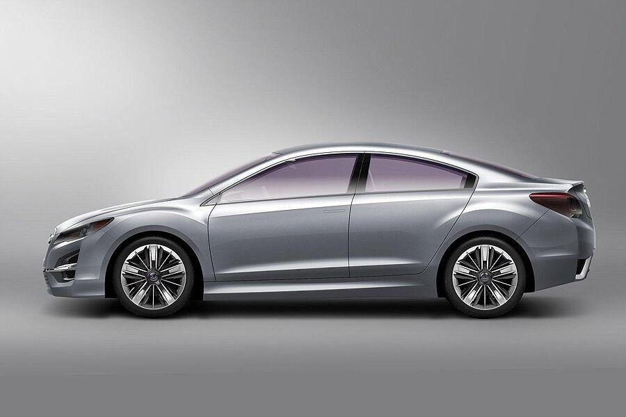 96 Subaru Impreza 2 2 Motor Subaru Impreza Concept In L A Preview