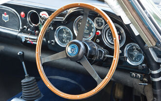 1963er Aston Martin DB4 Series V Vantage Lenkrad
