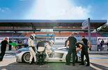 AMG Driving Academy, Mercedes SLS AMG GT3, Seitenansicht