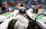 Adrian Sutil, Force India, Formel 1-Test, Barcelona, 21. Februar 2013