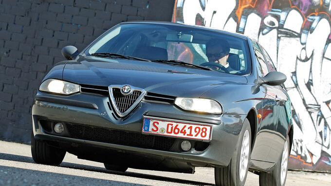 Alfa Romeo 156 1.8 Twin Spark im Fahrbericht : Der Alfa für alle