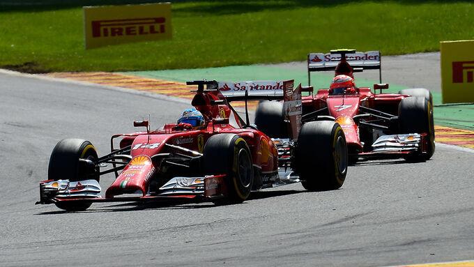 Freud und Leid bei Ferrari