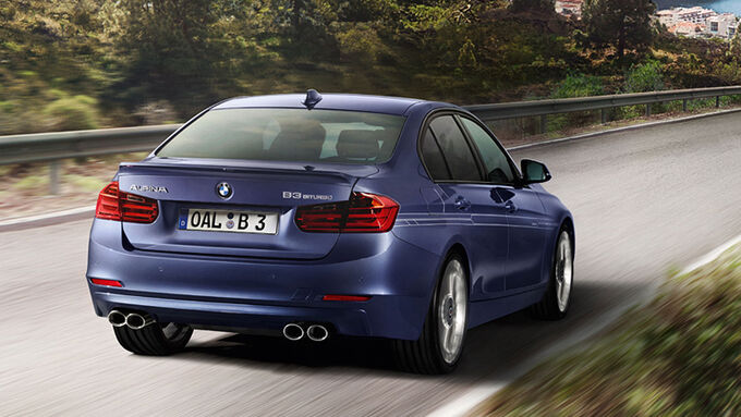 Alpina B3 Biturbo Sperrfrist 25.2.