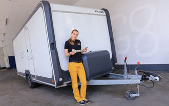 Anhänger-Führerscheine, Annette Napp