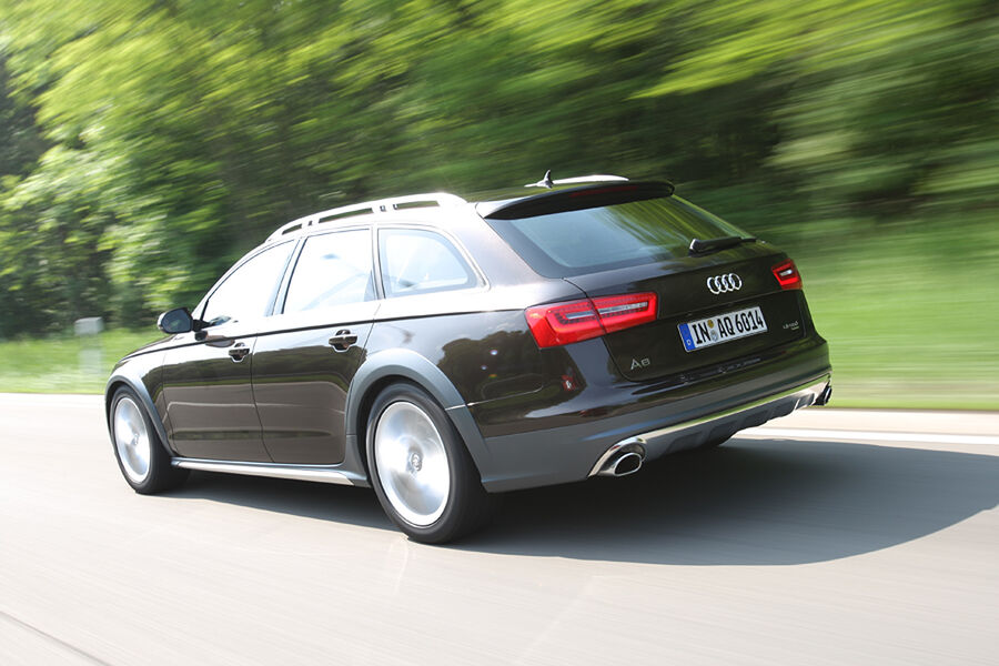 Audi a6 allroad 3 0 tdi im test wenn der avant die rmel for Hans dieter heck