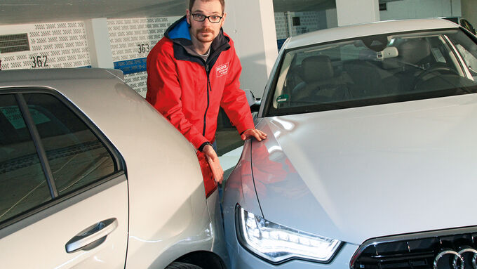 Audi A6, Einparktest