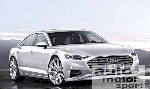 Audi-Neuheiten, Audi A8