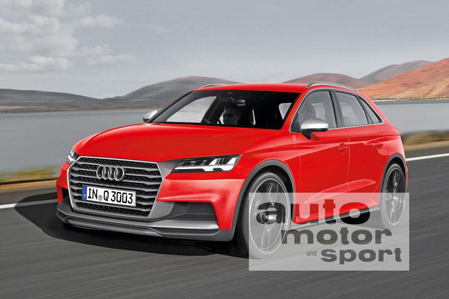 Modelloffensive Bis 2019 Audi Setzt Auf Suv Auto Motor