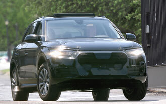 Audi Q5 Facelift Erlkönig