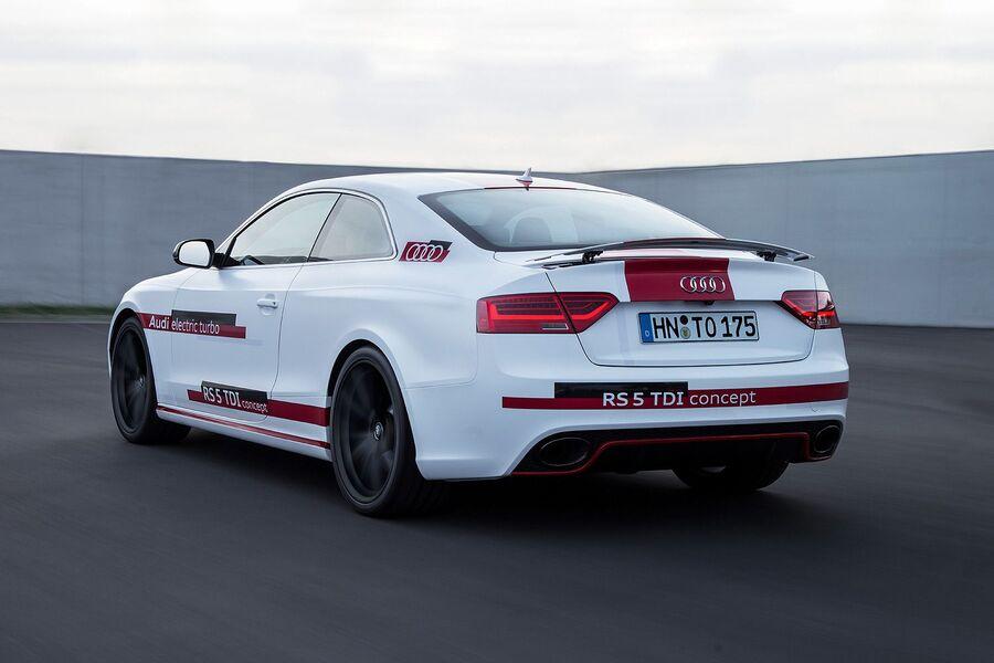 Новая Audi RS5 Concept с дизелем 3.0 TDI