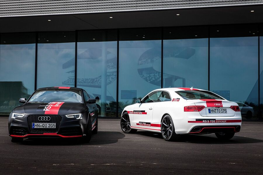 Прототипы Audi RS5 2014 года