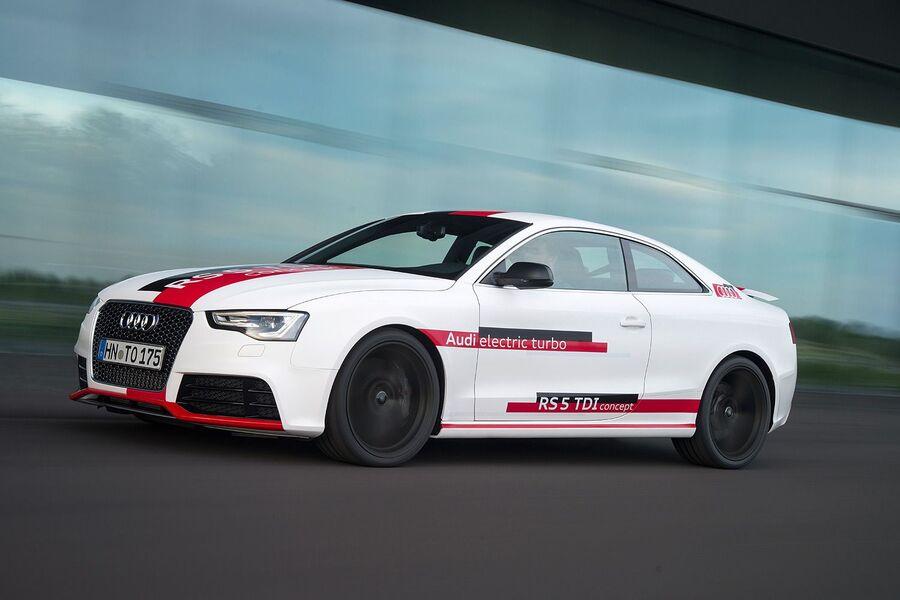Audi RS5 Concept с двигателем 3.0 TDI