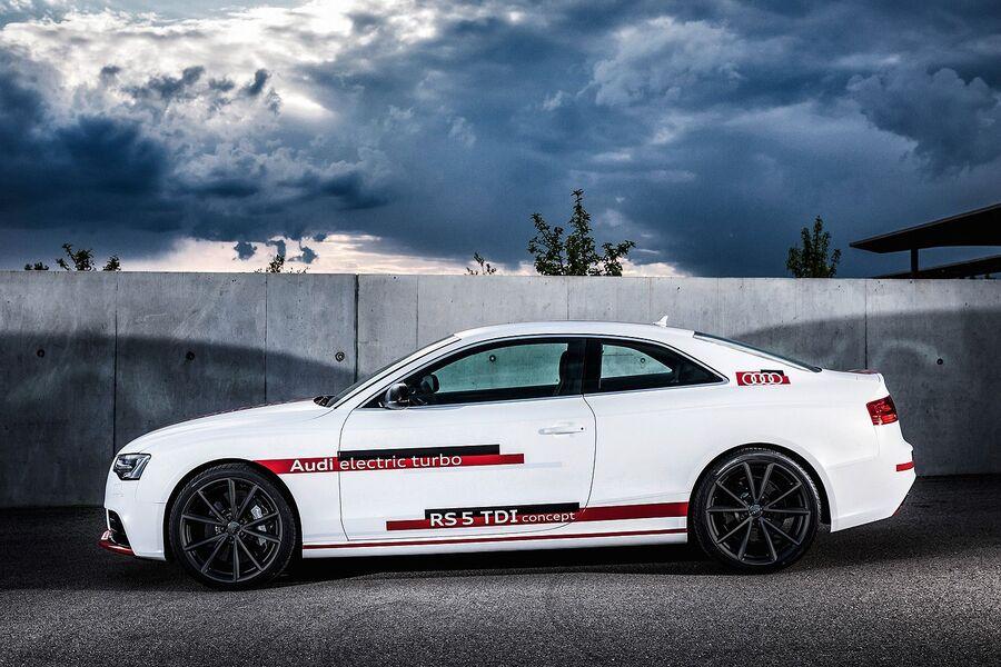 Концепт с новым дизелем Audi RS5 TDI