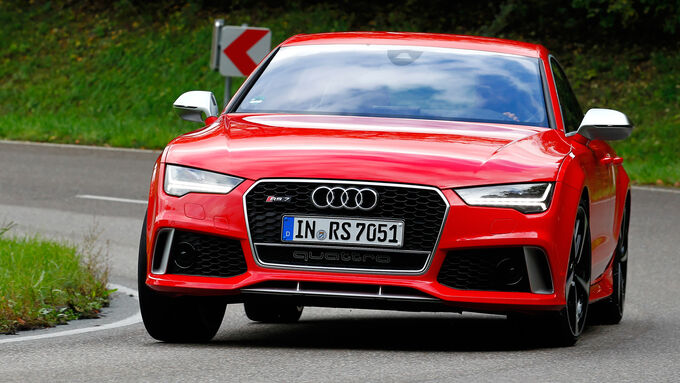Audi RS7 Sportback, Front view