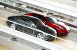 Audi S7 Sportback, Porsche Panamera GTS, Side view