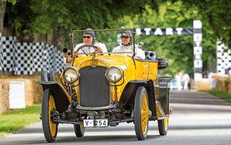 Audi Typ C Alpensieger, Goodwood, Frontansicht