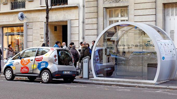 Autolib-Center, Elektroauto