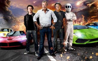 BBC Top Gear Clarkson Hammond May