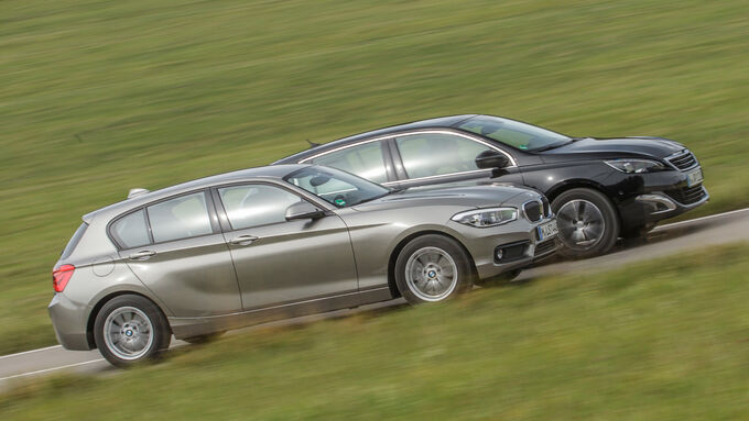 BMW 116d EDE, Peugeot 308 Blue HDi,