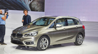 BMW 2er Active Tourer 218d, Genfer Autosalon, Messe, 2014, Genfer Autosalon, Messe, 2014