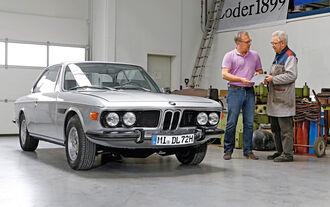 BMW 3.0 CSi (E9), Frontansicht
