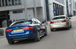 BMW 320d, Jaguar XE 20d, Rear view