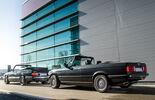 BMW 320i Cabrio, Saab 900 S Cabrio, Seitenansicht