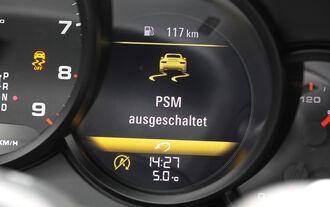 BMW 550i, Kurvenfahrt, ESP