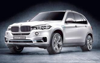 BMW Concept X5 E-driv, Seitenansicht