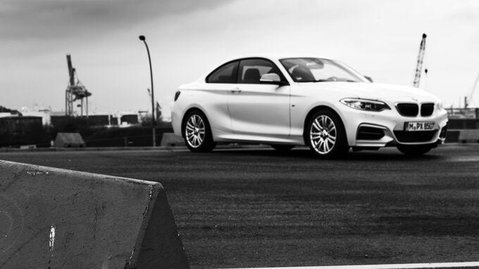 BMW M235i, Front
