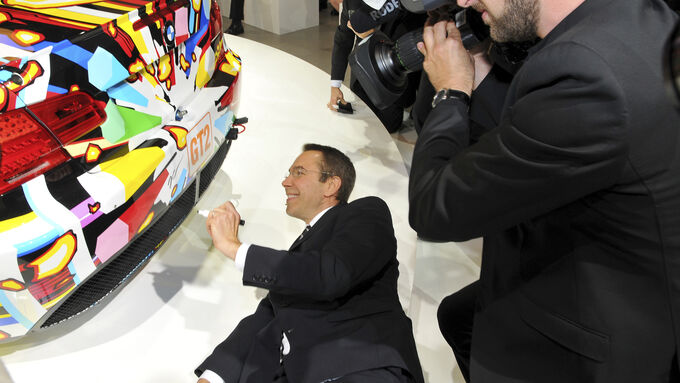 BMW M3 GT2, Jeff Koons