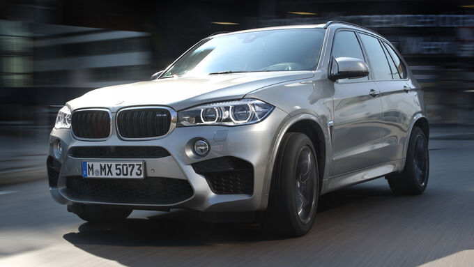 BMW X5 M, Front view
