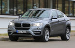 BMW X6 xDrive 30d, Front view