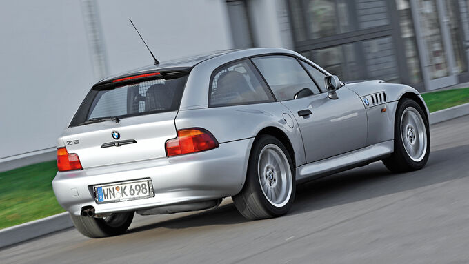 BMW Z3 Coupé, Heckansicht