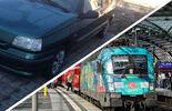Bahn versus Gebrauchtwagen