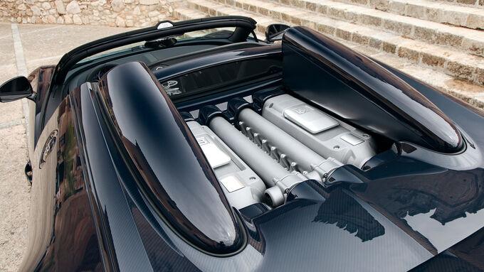 Bugatti Veyron Grand Sport Vitesse, Motor