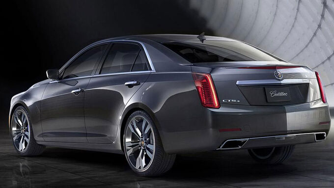 Cadillac CTS 2013