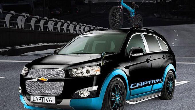 Chevrolet Captiva Freerider, Tokyo Auto Salon 2013