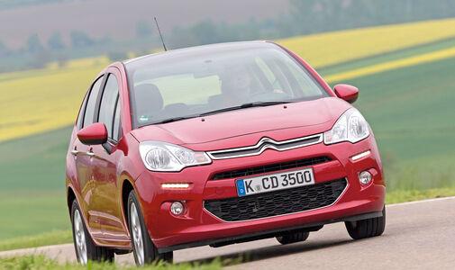 Citroën C3 VTi 82, Frontansicht