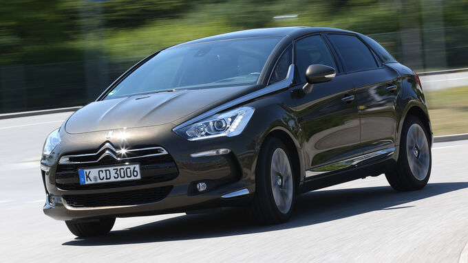 Citroën DS 5 Blue HDi, Frontansicht