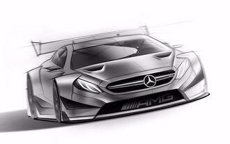 Mercedes C63 AMG DTM