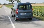 Dacia Dokker, Heckansicht