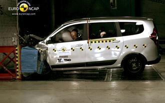 Dacia Lodgy Crashtest
